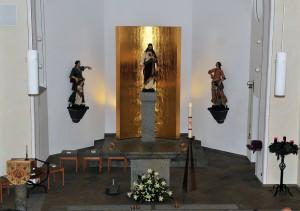 Bilder vom Festgottesdienst der Einweihung der renovierten Herz-Jesu-Kirche