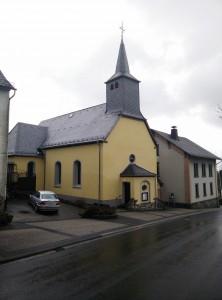 Bilder der Herz-Jesu Kirche in Schenkelberg