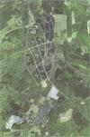 Luftbild des Forstgebietes Schenkelberg, Stand 2005
