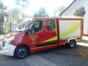 Das neue Einsatzfahrzeug KLF